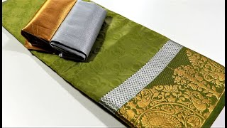 Beautiful blouse design for silk saree | Cutting and stitching | Rethna stitching class