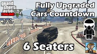 Fastest 6 Seater Vehicles (2015) - Best Fully Upgraded Cars In GTA Online