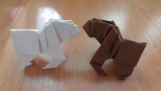 Символ 2016 года своими руками - обезьяна оригами из бумаги для начинающих