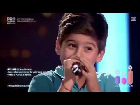 The Voice Kids Romania 2017  Adrian Ivan Billionaire