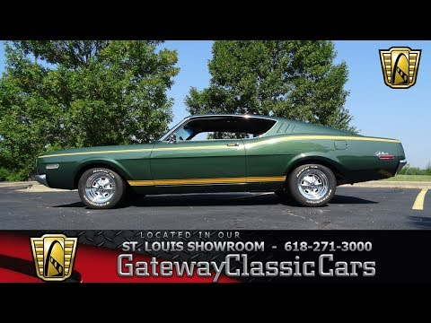 #7414 1968 Mercury Cyclone - Gateway Classic Cars of St. Louis