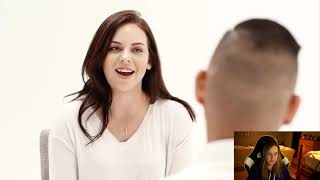 Karma reacts to 30 vs 1: Dating App In Real life
