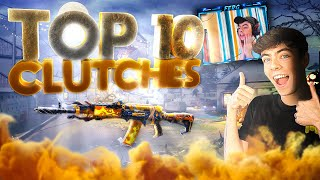 TOP 10 BEST PLAYS of ALL TIME in COD Mobile (Clutches Reaction)
