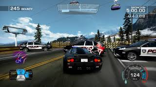 NEED FOR SPEED HOT PURSUIT    EAGLE CREST    DOUBLE CROSS INTERCEPTOR