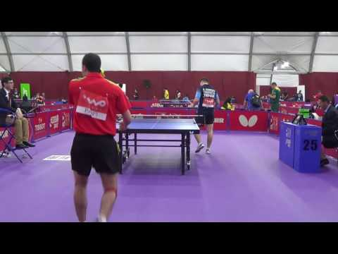 World Team Table Tennis Championships 2016 - AVI-TAL Omer (PAN) vs. AHMEDOV Rashid. (TKM)
