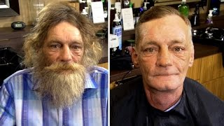 getlinkyoutube.com-'No More Caveman!' Homeless Piano Prodigy Stunned by His Remarkable Makeover