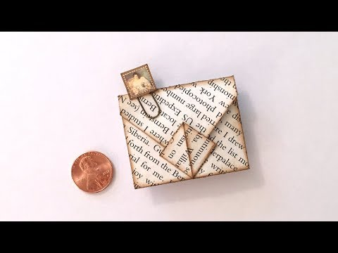 Mini Squash Fold Envelope