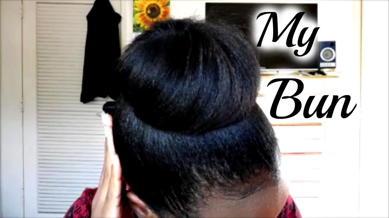 how to make a hair bun without a sock
