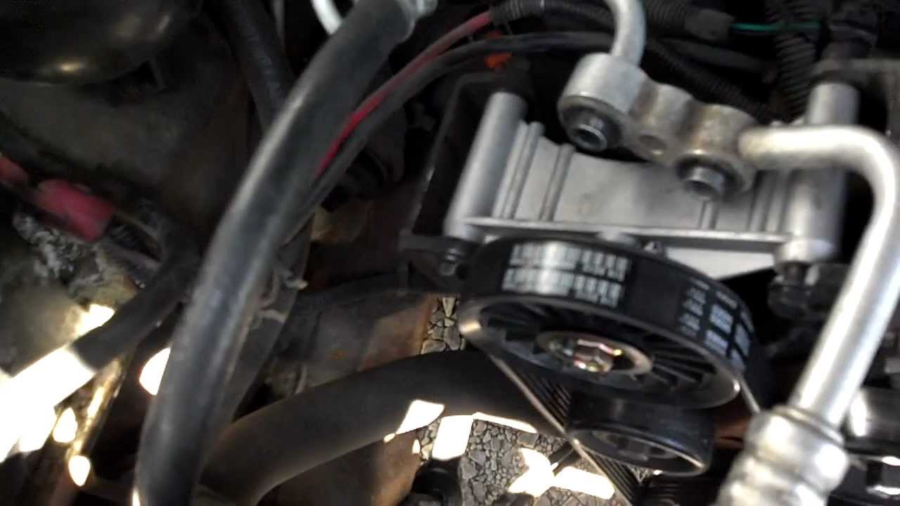 2002 chevy trailblazer engine diagram fan light switch wiring how to wire multiple switches agnitum bypass ac compressor - locked up 93 s10 youtube