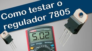 Video Como testar o regulador de tensão série 78XX - Curso de placa eletronica split convencional download MP3, 3GP, MP4, WEBM, AVI, FLV Oktober 2018