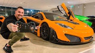 RARE FULL CARBON WIDEBODY MCLAREN 12C GT3!  *WORTH $275,000*