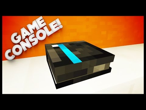 Minecraft - How To Make A Game Console (PS4/XBOX)