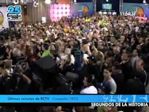 - SEGUNDOS DE LA HISTORIA: Cierre de Radio Caracas Televisión - RCTV