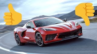 The BEST and WORST Parts of the NEW C8 Corvette!