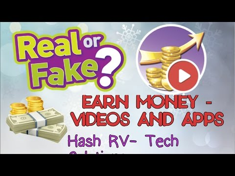 #8 Earn Money - Videos And Apps Real Or Fake | Full Proof