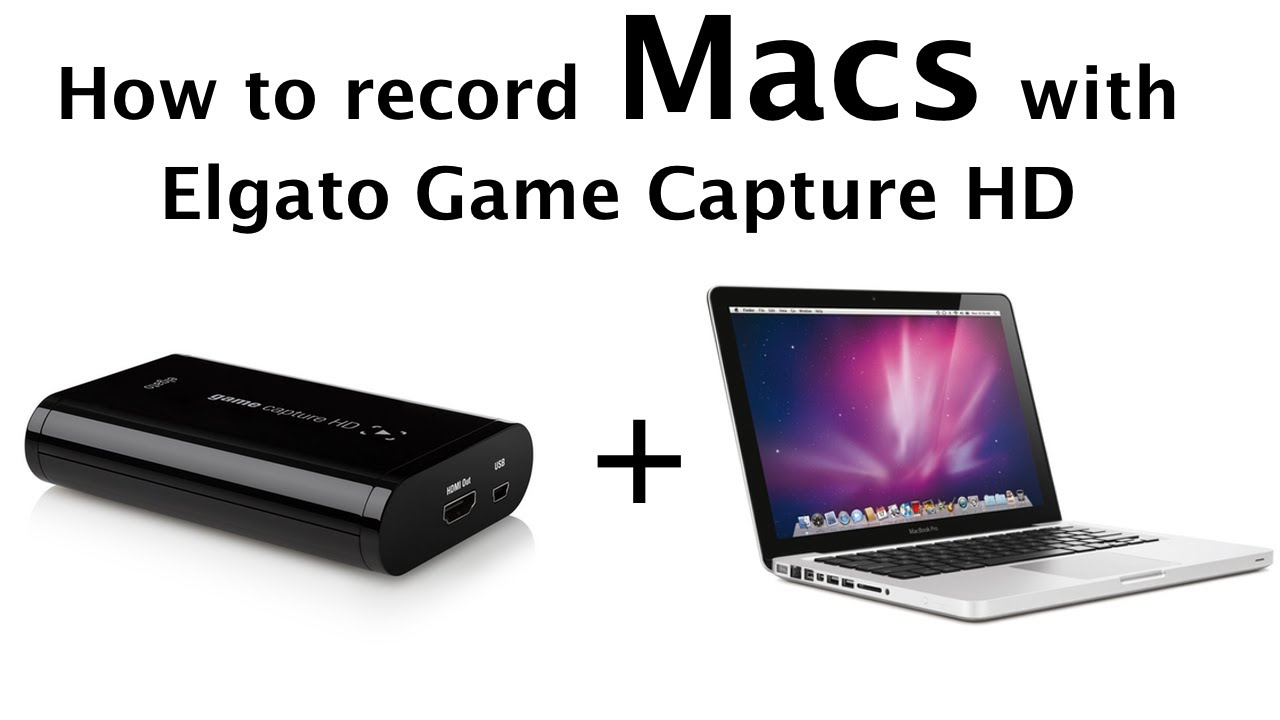 How to record your Macbook/iMac using an Elgato Game Capture HD!
