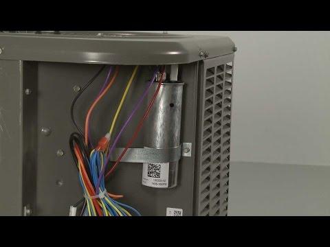 Run Capacitor - Lennox Condensing Unit