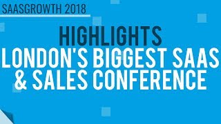 Subscribe to our channel for more talks and highlights from some of the worlds leading saas sales professionals. you can also get your early bird tickets...