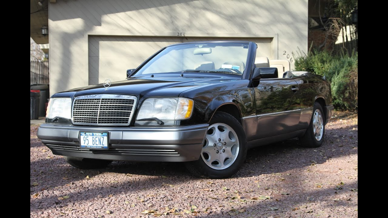 1995 mercedes e320 convertible for sale youtube