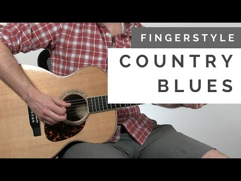 How to Play some Country Blues Pickin' in E   Tuesday Blues #147