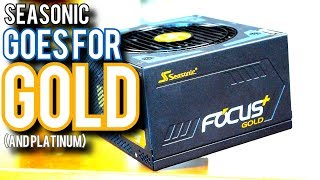 Seasonic Focus Plus Review - Quiet, Modular... Amazing?