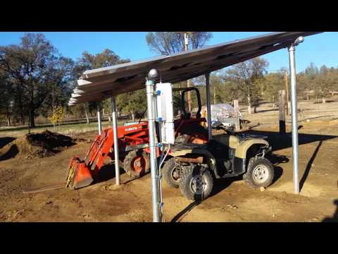 Solar tractor port & a big thanks to Engineer 775