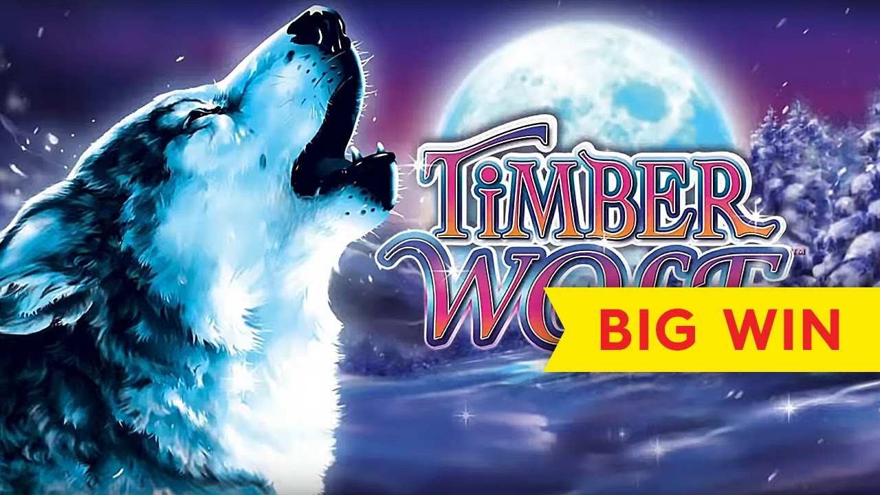Timber Wolf Deluxe Slot Big Win Bonus Youtube