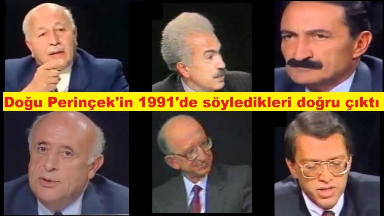 1991 Doğu Perinçek'in Sözleri Doğru Çıktı - YouTube