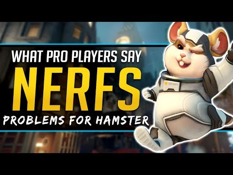 Overwatch HAMMOND NERF - What PROs think of Wrecking Ball thumbnail
