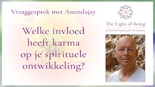 Karma en je spirituele ontwikkeling   Anandajay