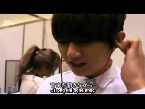 [TMVF][Vietsub] Trouble Maker & BEAST - MAMA 2011 Backstage @ Exciting Cube TV