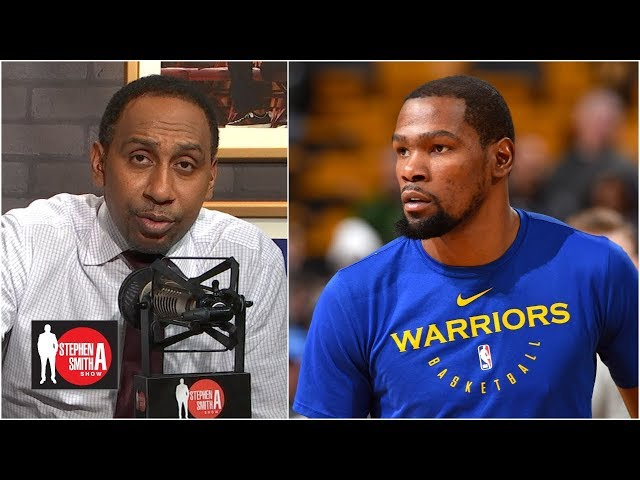 Warriors should sign Kevin Durant, trade him after 2020 NBA playoffs | Stephen A. Smith Show