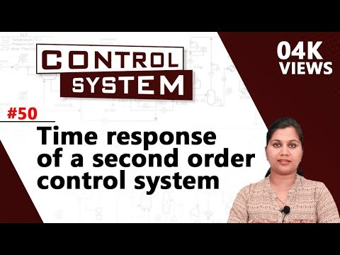 Time Response of a Second Order Control System - Time Response Analysis - Control Systems