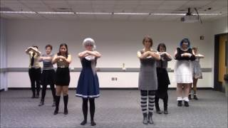 A group of friends who all learned EveR∞LastinG∞NighT and did it together in various cosplay. Credit for the English version so that I can actually show this ...