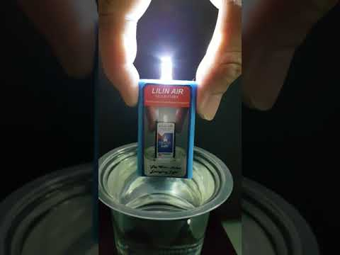 Magnesium Water Activated LED Light