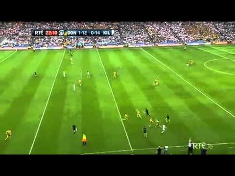 Kevin Cassidy Scores Winning Point For Donegal. Donegal Vs. Kildare 30/07/2011