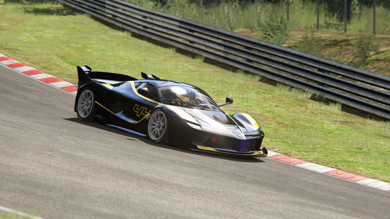 Ferrari FXX K Nordschleife 6:26.871 Assetto Corsa Top 5