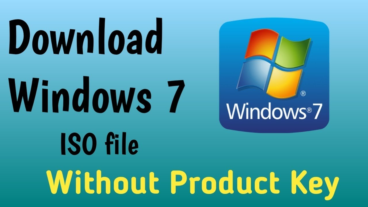 windows 7 iso without product key download