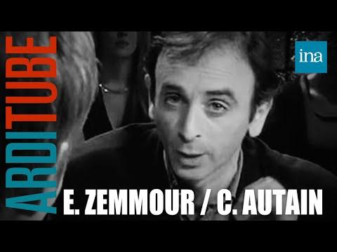 Eric Zemmour face à Clémentine Autain - Archive INA