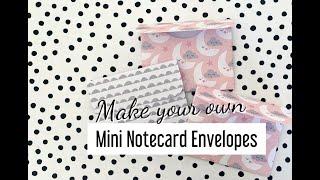 🌸 GIVEAWAY WINNERS 🌸 HOW TO MAKE 💌 Mini Notecard ENVELOPE