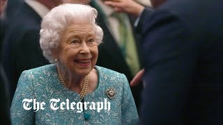 Londoners express well-wishes for the Queen following hospital stay
