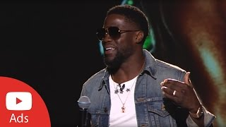 Brandcast 2017: Kevin Hart, Comedian | YouTube Advertisers
