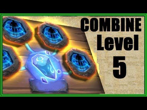 CRAZY Combining LEVEL 5 PSYSHIELD! Crest Set Castle Clash