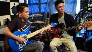 Eagles Hotel California Solo Outro Guitar Bass Cover by Otho S. Jonathan Lai.mp3
