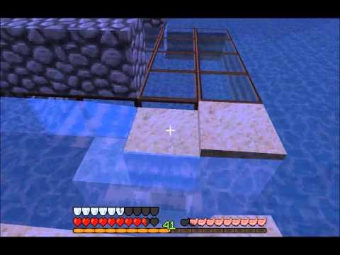 Let's Play Minecraft 1.8 Unterwasser Tempel - Folge 1 - Auf dem Weg zum Ocean Monument