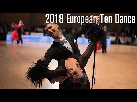2018 European 10D | The STD Final | DanceSport Total