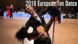 2018 European 10D | The STD Final | DanceSport Total