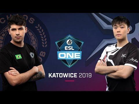 Chaos vs Mineski - ESL One Katowice 2019 - Game 1