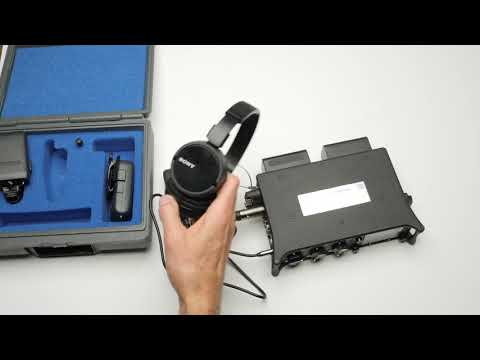 Sound For Video Session: Wireless Headphone Feeds