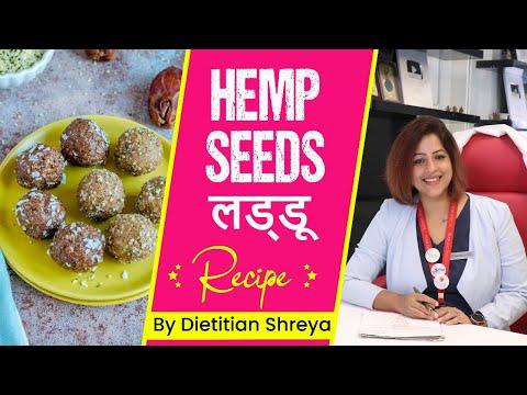 Healthy Hemp seed लड्डू  -Dietitian Shreya